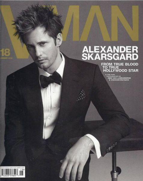 Александр Скарсгард в журнале VMan. Лето 2010