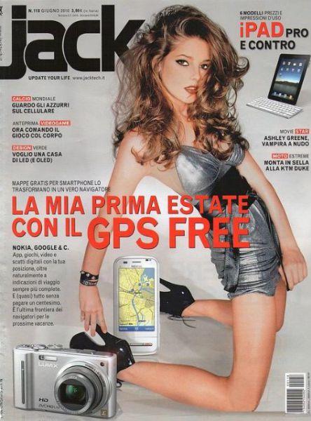 Эшли Грин в Jack Magazine. Июль 2010