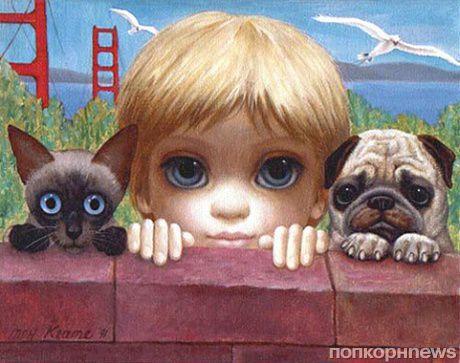Новый проект Тима Бертона «Большие глаза»