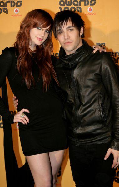 Эшли Симпсон и Пит Вентц на премии MTV Australia