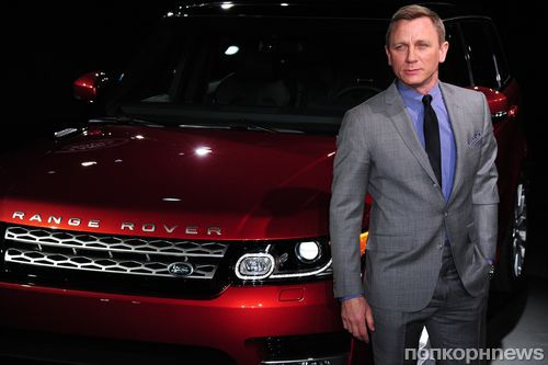Дэниел Крэйг представил Range Rover Sport