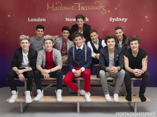 Музей мадам Тюссо представил восковых One Direction