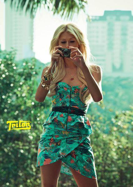 Пэрис Хилтон для Triton Lovers Spring/Summer 2011