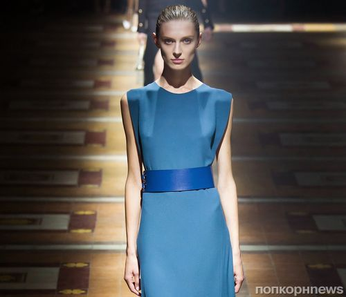 Модный показ новой коллекции Lanvin. Весна / лето 2015