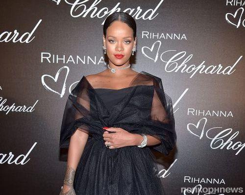 Рианна представила ювелирную коллекцию для Chopard в Каннах