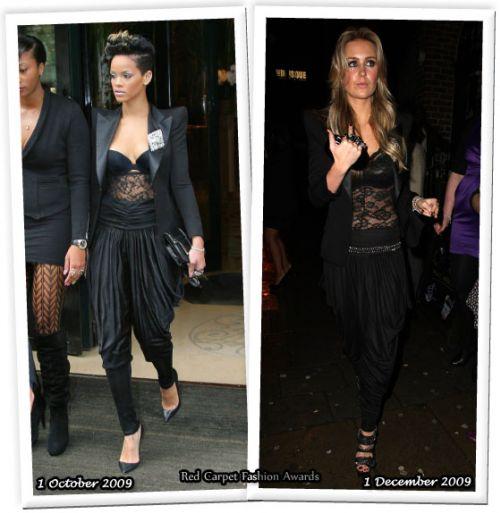 Fashion battle: Рианна и Алекс Курран