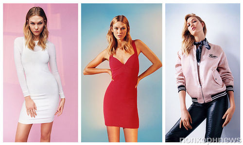 Карли Клосс показала модный весенний гардероб в новой рекламной кампании Topshop