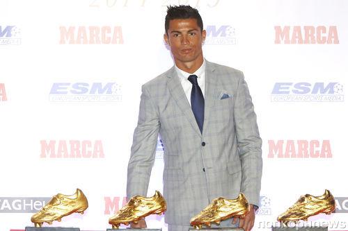 Криштиану Роналду в четвертый раз получил «Золотую бутсу»
