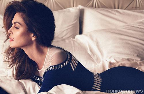 Синди Кроуфорд в журнале Harper's Bazaar. Россия. Март 2014