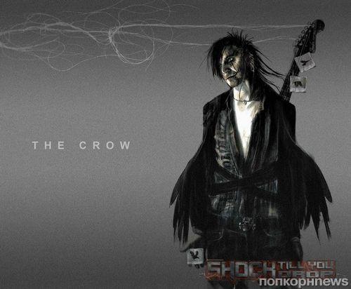 Концепт-арт к фильму «Ворон»