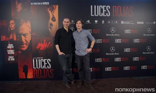 """Фотоколл и премьера фильма """"Красные огни"""" в Мадриде"""