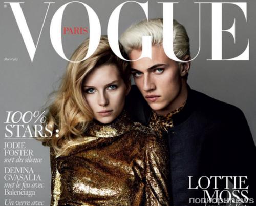 Сестра Кейт Мосс впервые попала на обложку Vogue