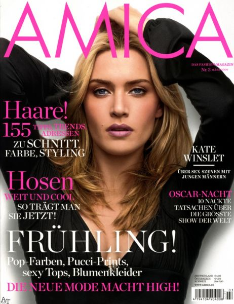 Кейт Уинслет в журнале Amica Германия. Март 2009