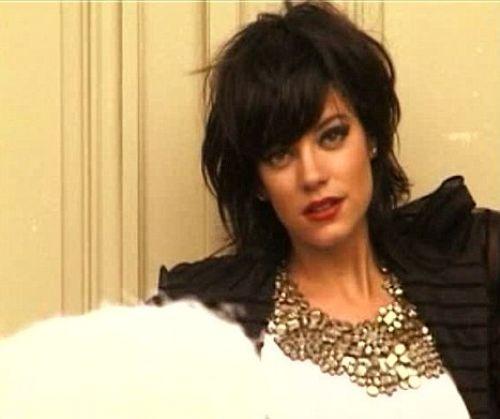 Лили Аллен снимается в новой рекламе Chanel
