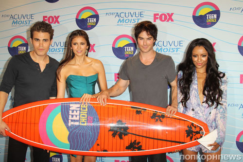 Звезды на Teen Choice Awards 2012