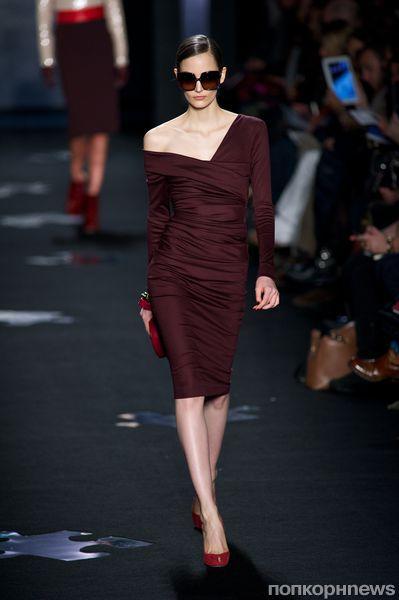 Модный показ Diane von Furstenberg. Осень / зима 2012-2013