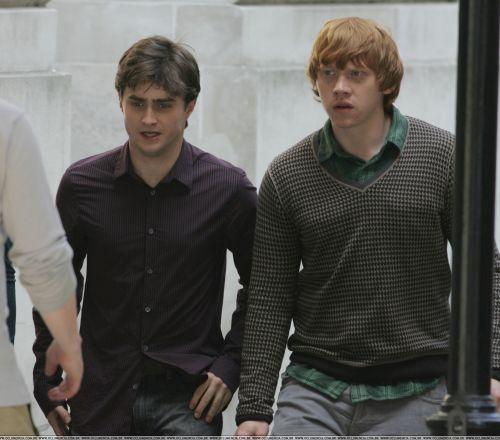 Съемки «Гарри Поттер и Дары Смерти»