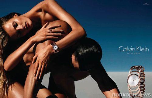 Рекламная кампания часов и ювелирных украшений Calvin Klein. Весна / Лето 2014