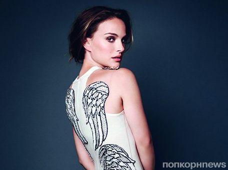 Натали Портман в журнале Elle Великобритания. Ноябрь 2013