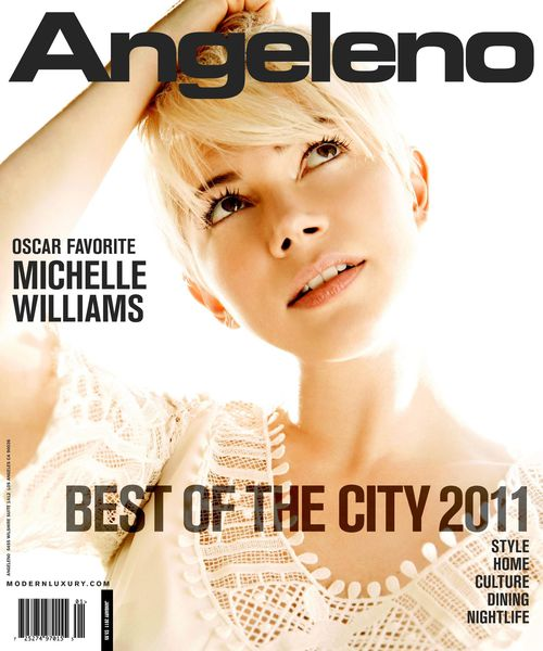 Мишель Уильямс в журнале Angeleno. Январь 2011