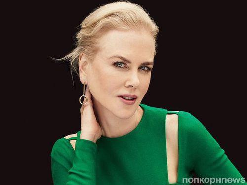 Николь Кидман в фотосессии для декабрьского Glamour