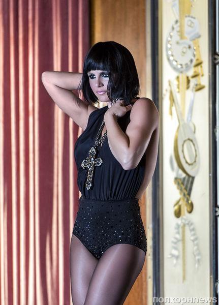 Бритни Спирс на съемках рекламной кампании аромата Fantasy Twist