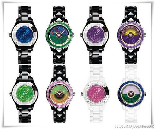 Часы Dior на выставке  Baselworld 2012