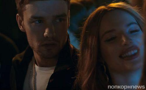 Белла Торн снялась в новом клипе Лиама Пейна на песню Bedroom Floor