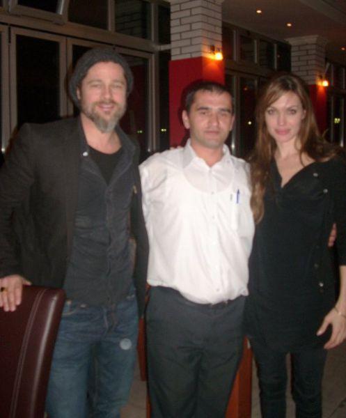 До возвращения в Италию Джоли и Питт побывали в Черногорье