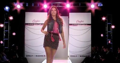 Видео: показ новой коллекции Candie's от Бритни Спирс