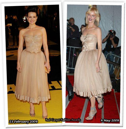 Fashion battle: Карла Гуджино и Ева Херцигова