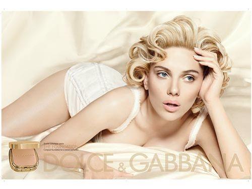 Новое фото Скарлетт Йоханссон для рекламы Dolce & Gabbana Cosmetics