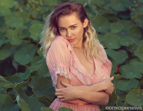 Майли Сайрус снялась в фотосессии для Billboard