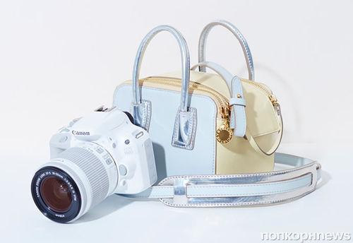 Дизайнер Стелла МакКартни создала сумку для фотокамеры Canon и украсила Jaguar XE