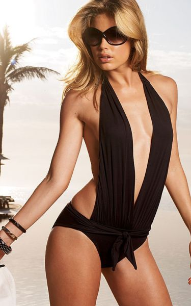 Даутцен Крез для нового каталога Victoria's Secret