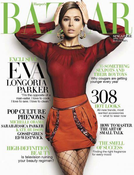 Ева Лонгория в журнале Harper's Bazaar. Апрель 2009