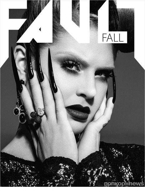 Келли Осборн в журнале Fault. Осень 2012