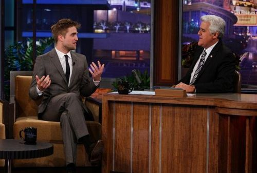 Роберт Паттинсон на The Tonight Show with Jay Leno