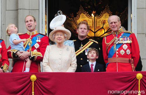 Принц Джордж поздравил прабабушку с днем рождения
