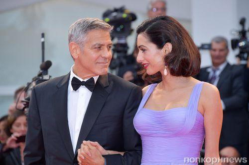 Джордж и Амаль Клуни обновят свадебные клятвы