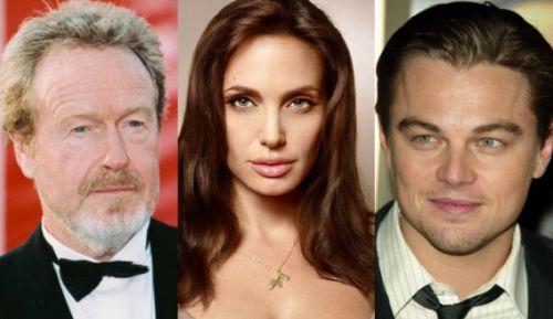 Ридли Скотт собирается поработать с Джоли и ДиКаприо