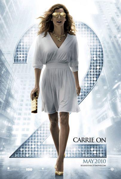 """Первый тизер-постер к фильму """"Секс в большом городе 2"""""""