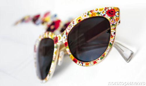 Лимитированная коллекция очков Dolce & Gabbana Mosaico