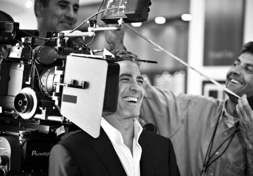 "Джордж Клуни и Гай Ричи снимают рекламу ""Nescafe"""