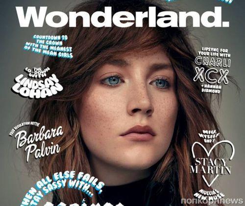 Сирша Ронан в журнале Wonderland. Сентябрь 2014