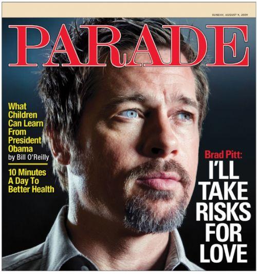 Брэд Питт в журнале Parade