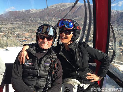 Кэтрин Зета-Джонс и Майкл Дуглас отдыхают в Аспене