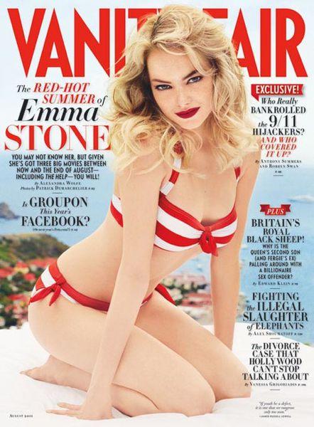 Интервью Эммы Стоун в журнале Vanity Fair. Август 2011