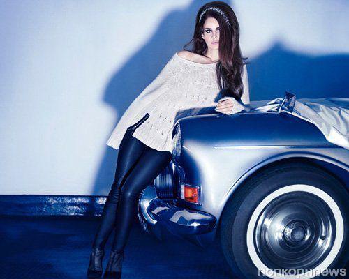 Лана Дель Рей в праздничной рекламной кампании H&M 2012-2013