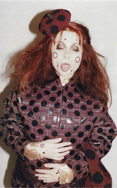 Хелена Бонэм Картер в осенней рекламной кампании Marc Jacobs